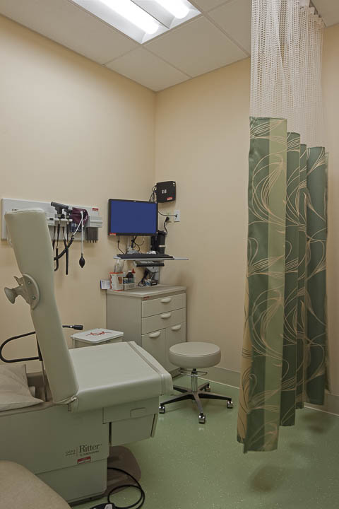 Women's Health exam room.